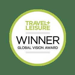 Travel & Leisure Global Vision Award