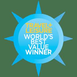 Travel and Leisure World's Best Value Winner