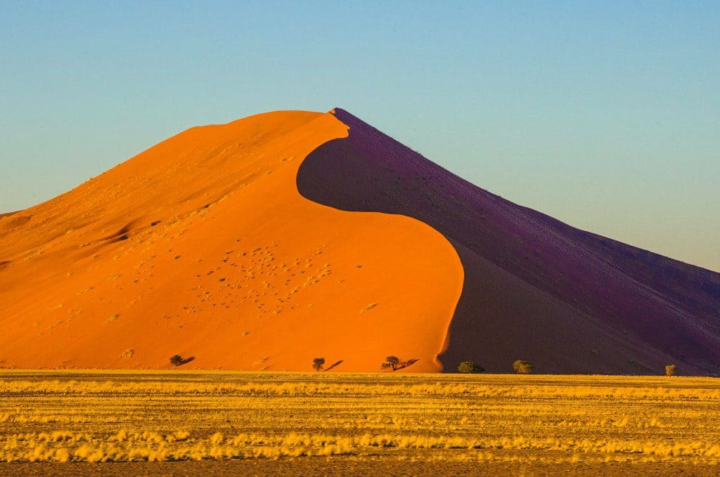 A dune in Namibia