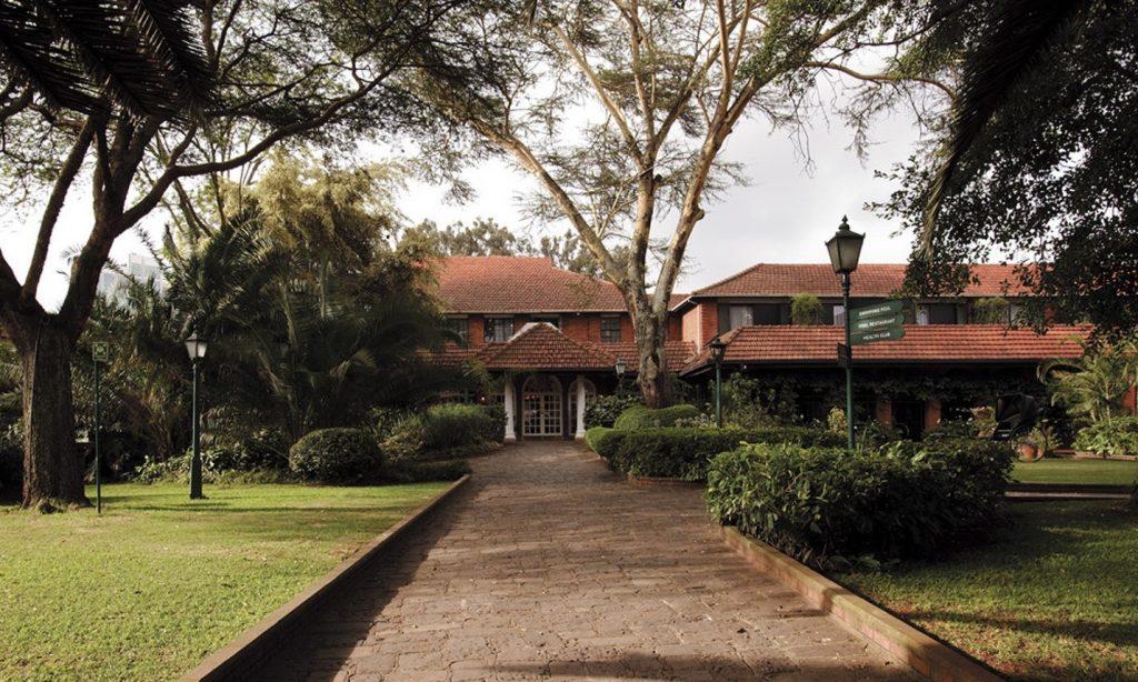 The walkway to Nana's House