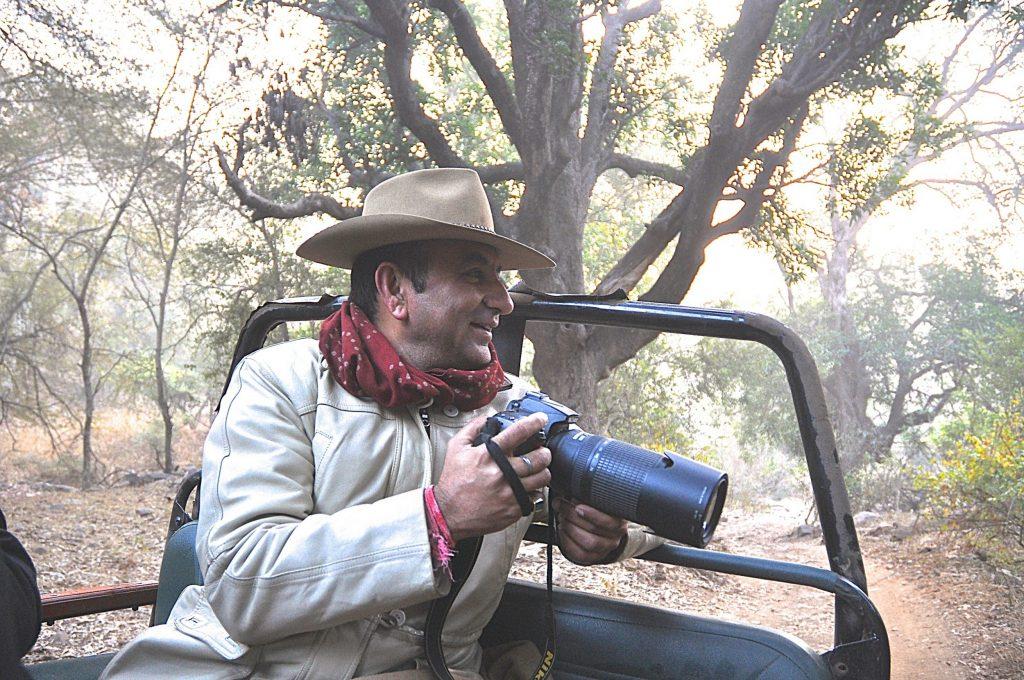 Hemender Singh in Ranthambore