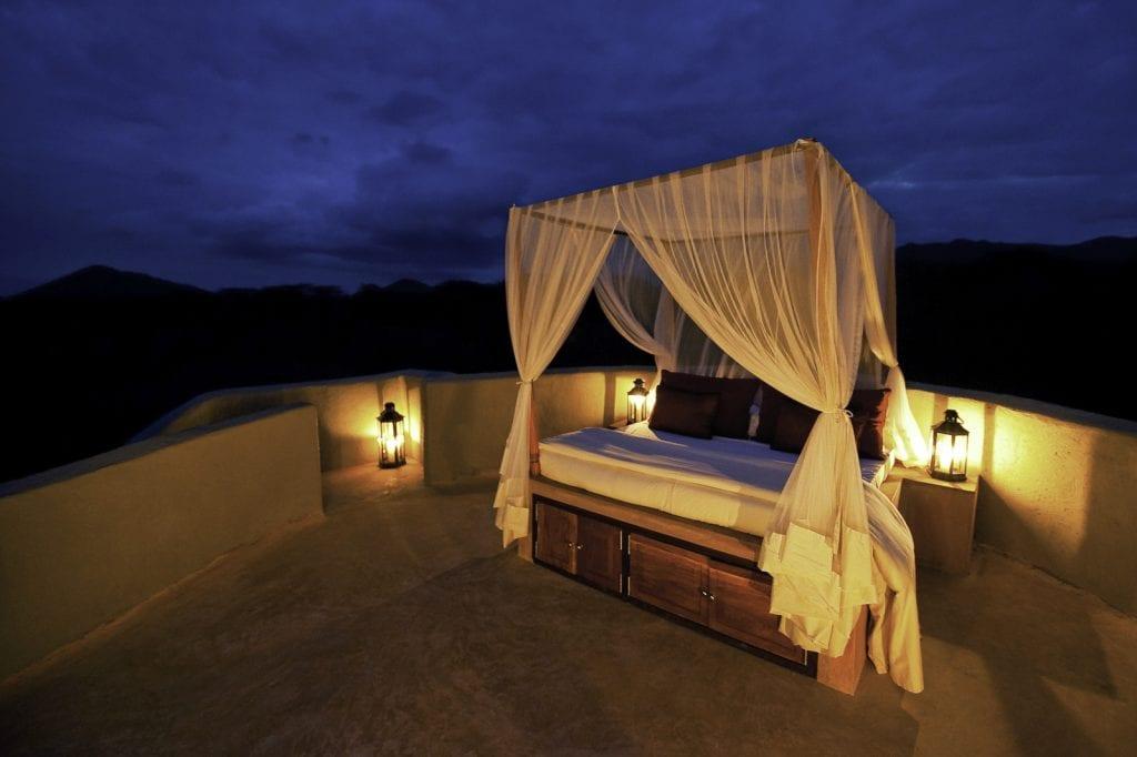 star bed at ol donyo