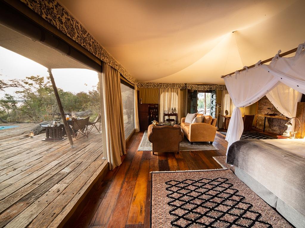 The Mpala Jena safari lodge