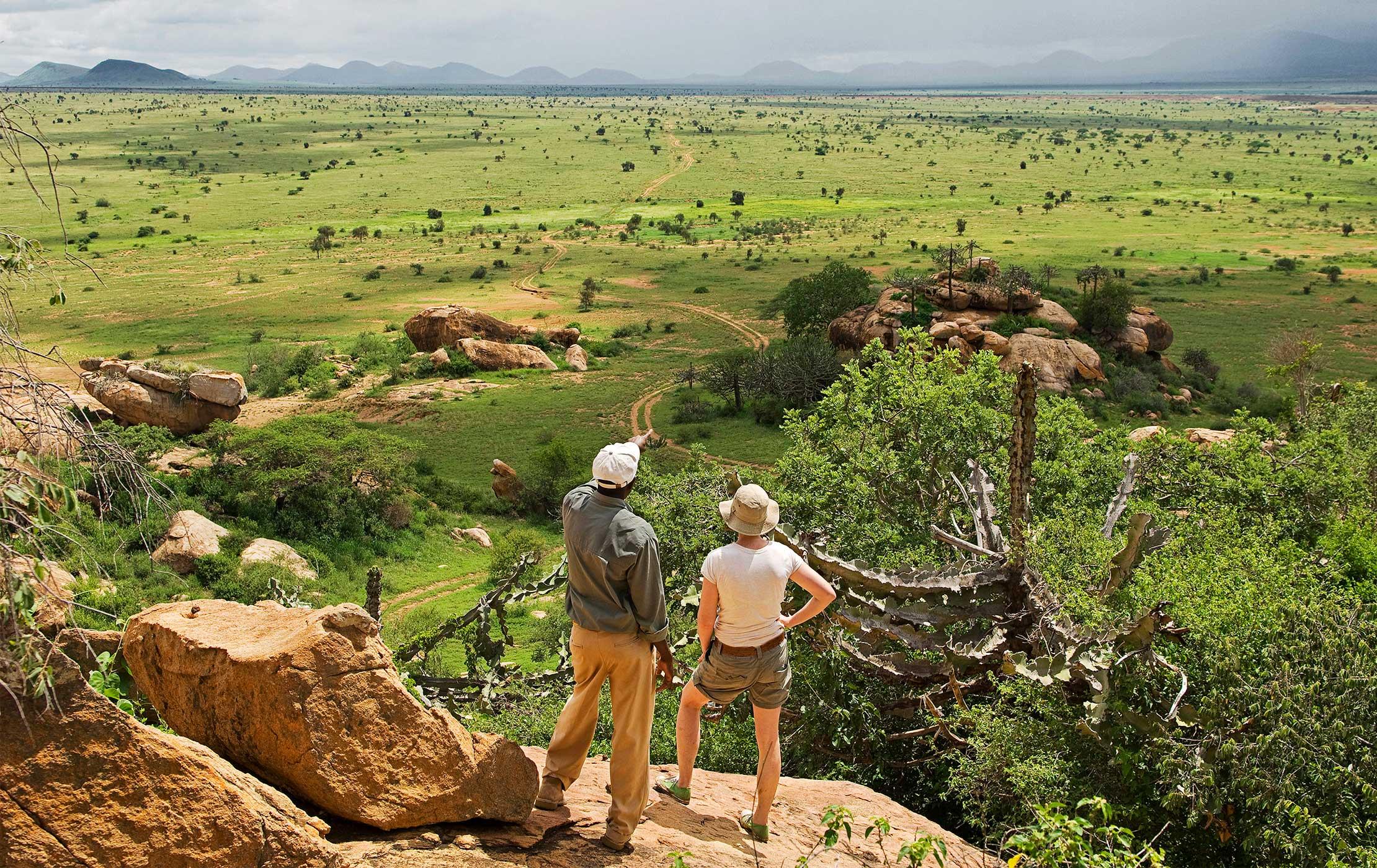 Awestruck in Kenya