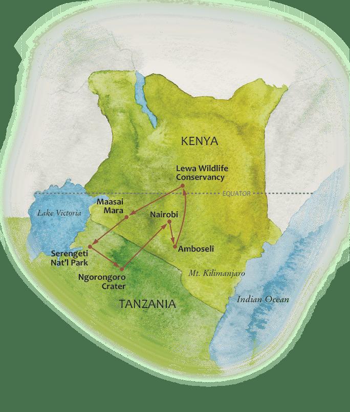 Grand map