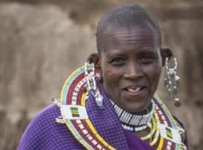 a tribal woman