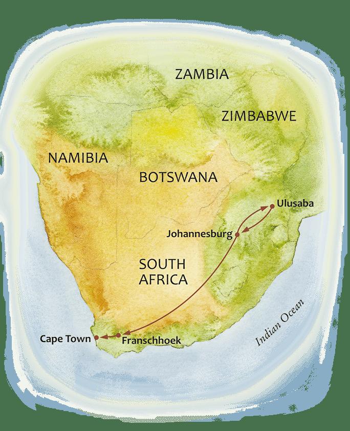 The Travel+Leisure World's Best Safari maps