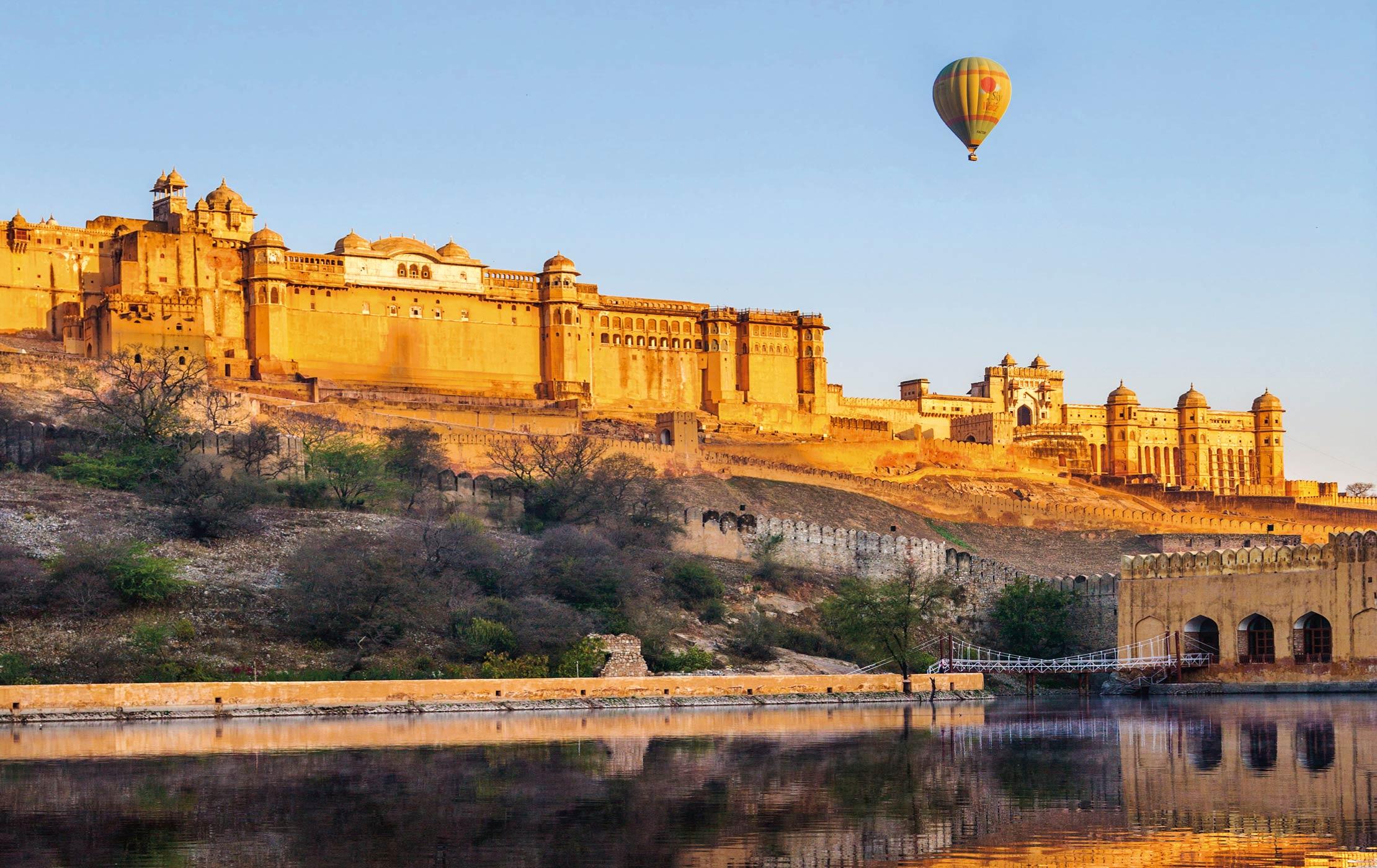 Balooning in Jaipur