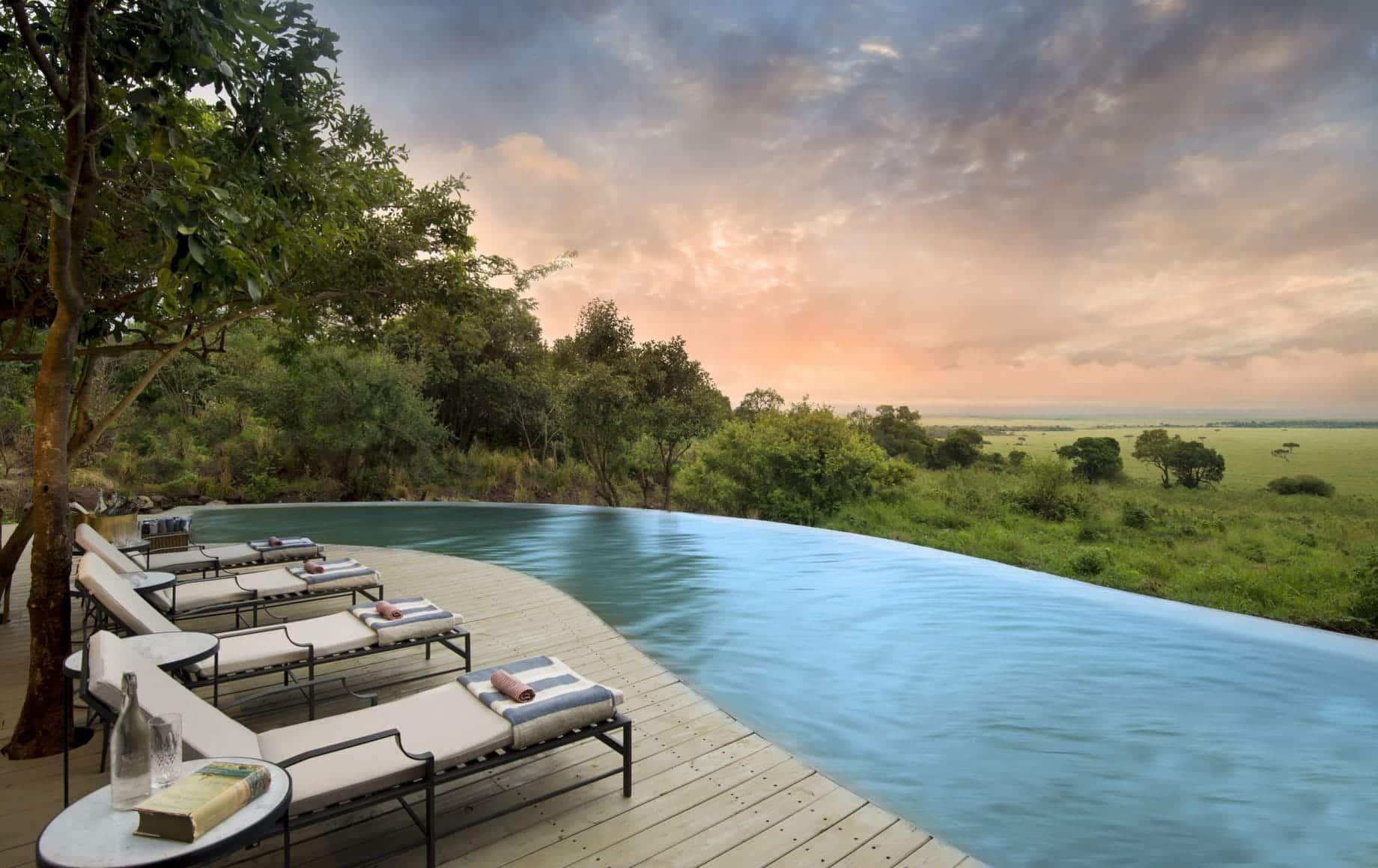 Bateleur Camp pool