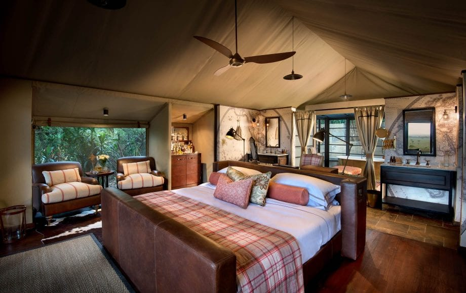 Bateleur Camp bedroom