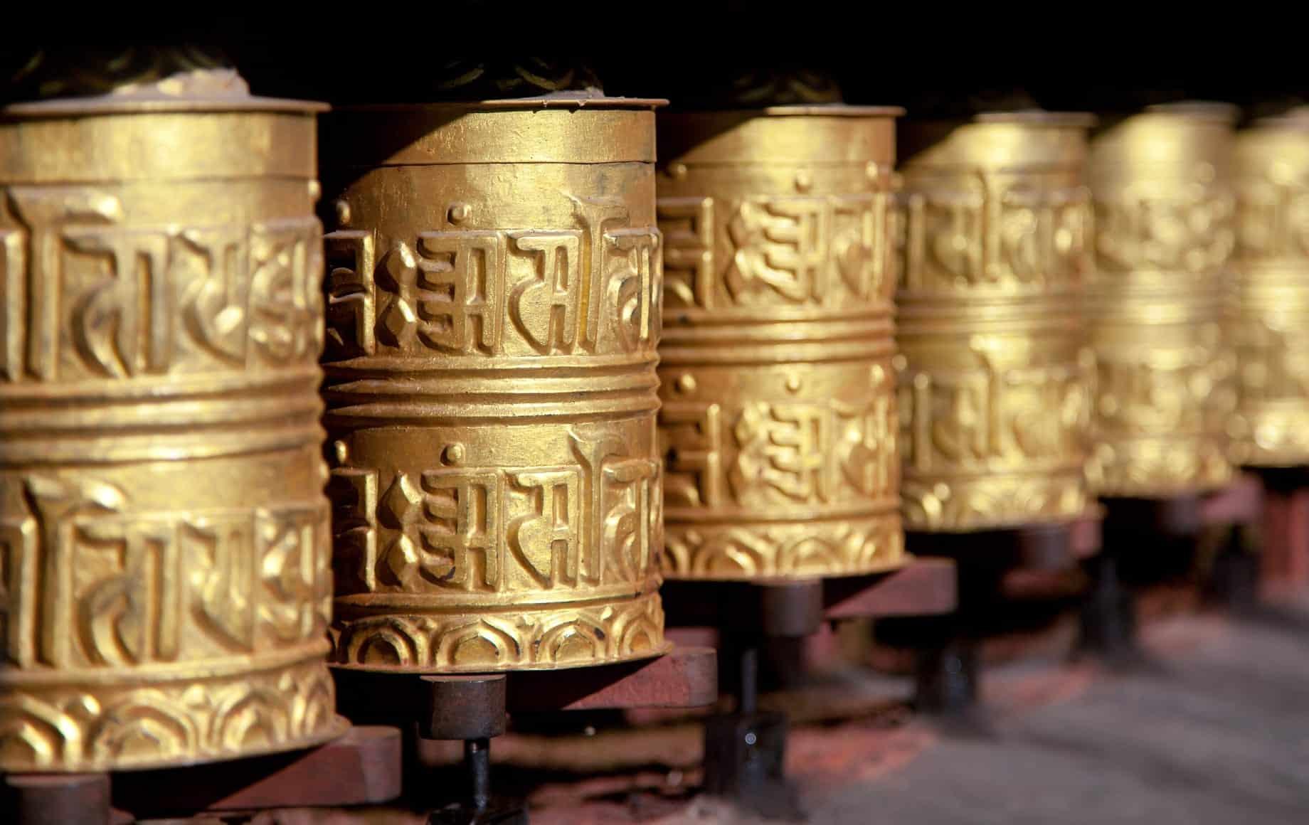 Bhutan traditional alphabets