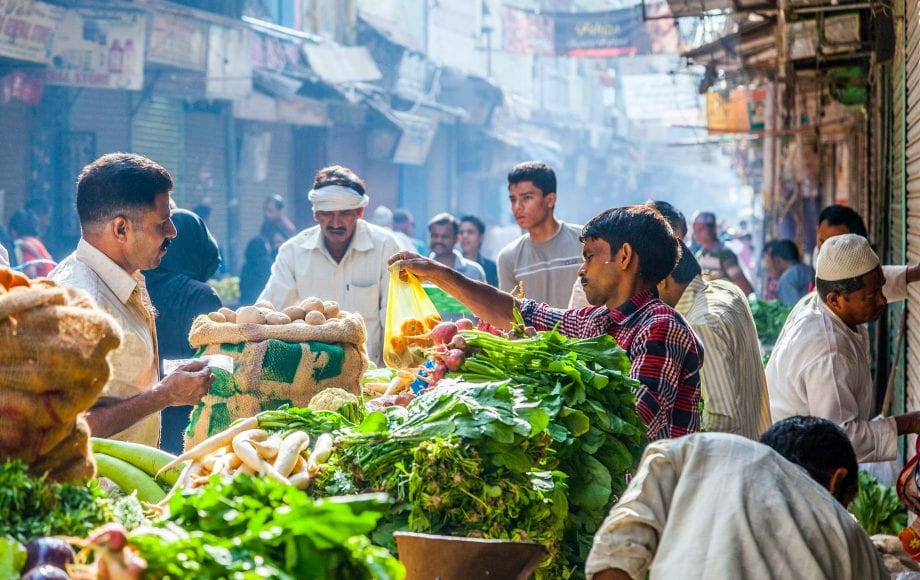 Vegetable Market, Delhi