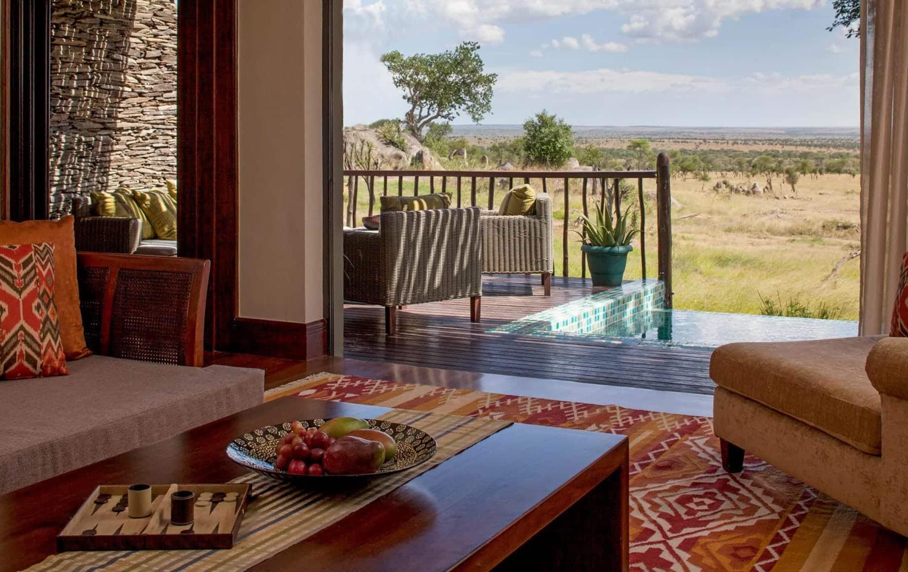 Four Seasons Safari Lodge Serengeti interior