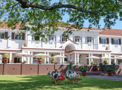 Honeymoon at Victoria Falls Hotel