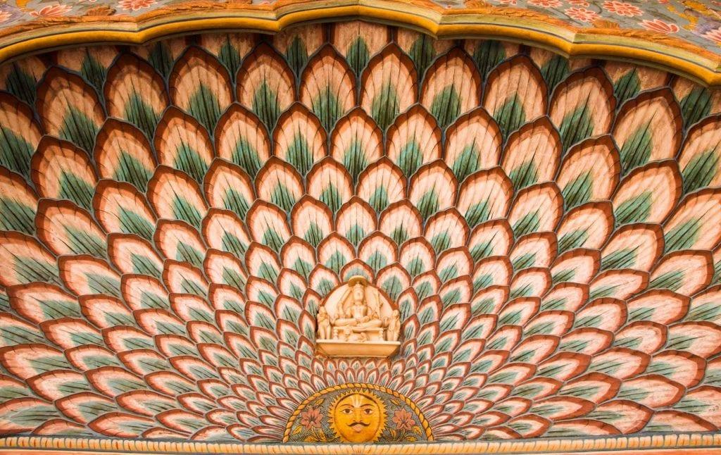 Patterns of Jaipur Buildings