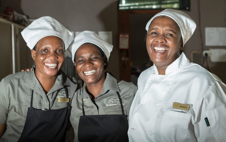 Chefs at Kadizora Camp
