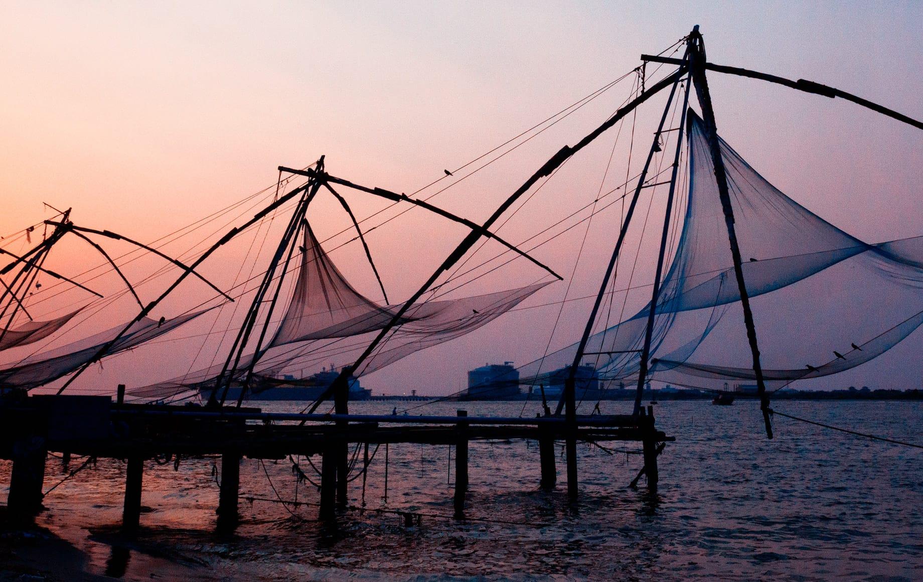 Kerala evening view