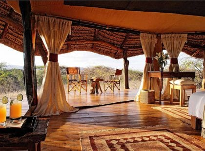 Lewa Safari Camp interior