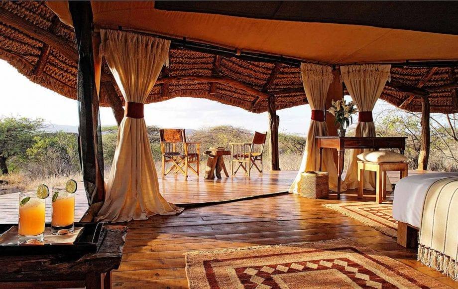 Lewa Safari Camp interior