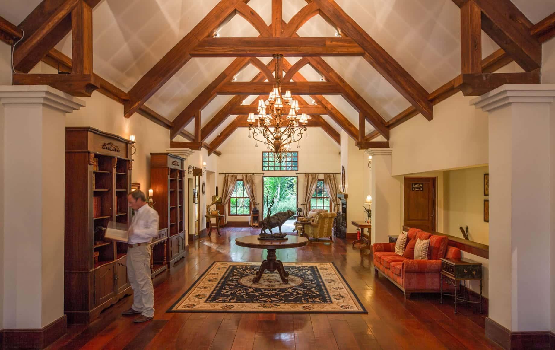 The Manor at Ngorongoro Crater interior