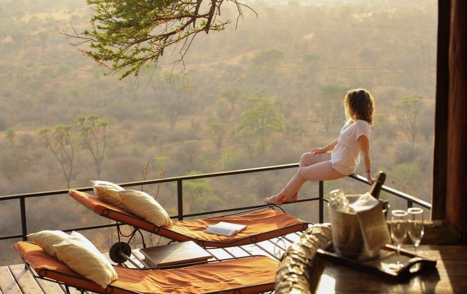 Peaceful view at Meru National Park, Kenya