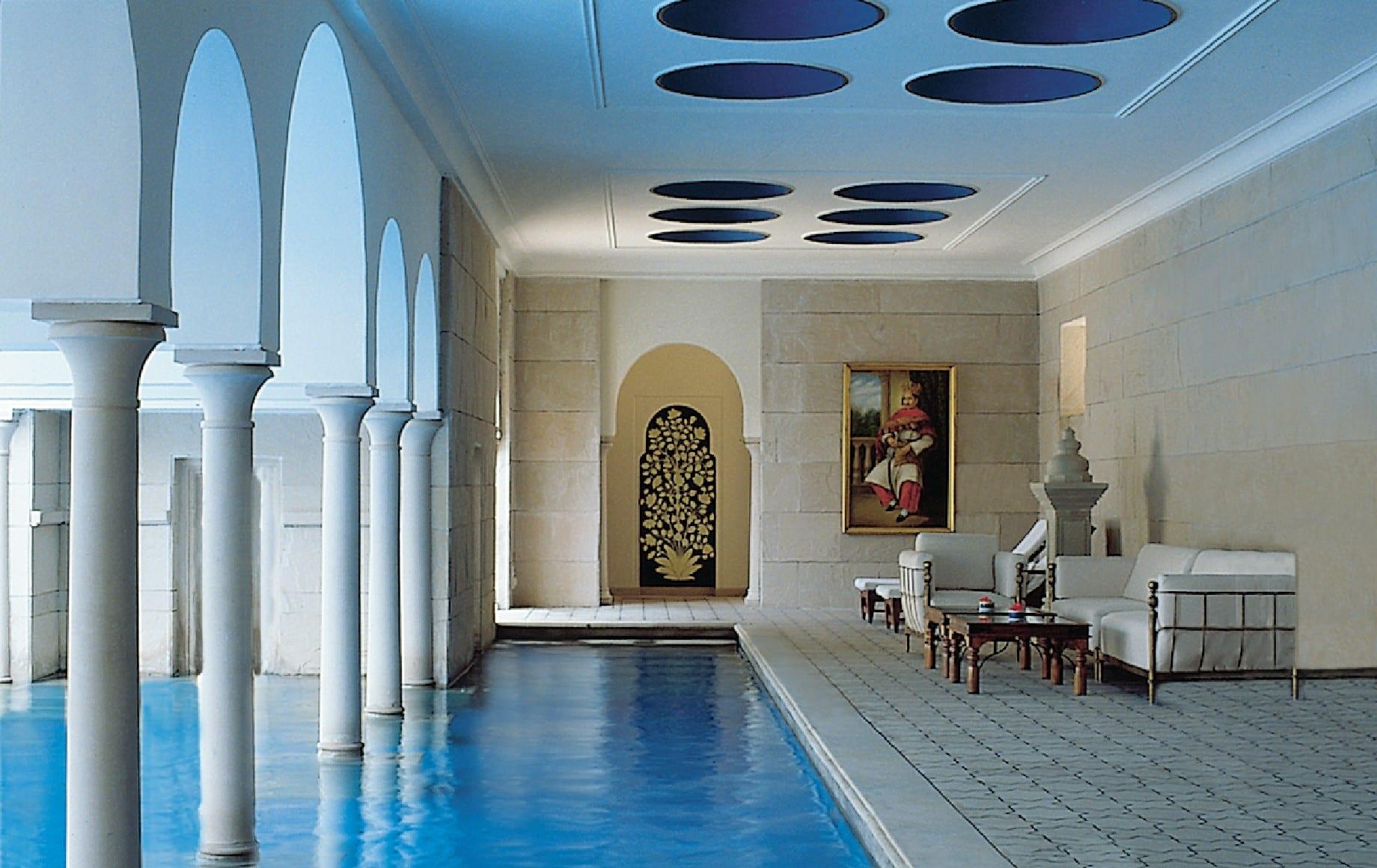 a pool room