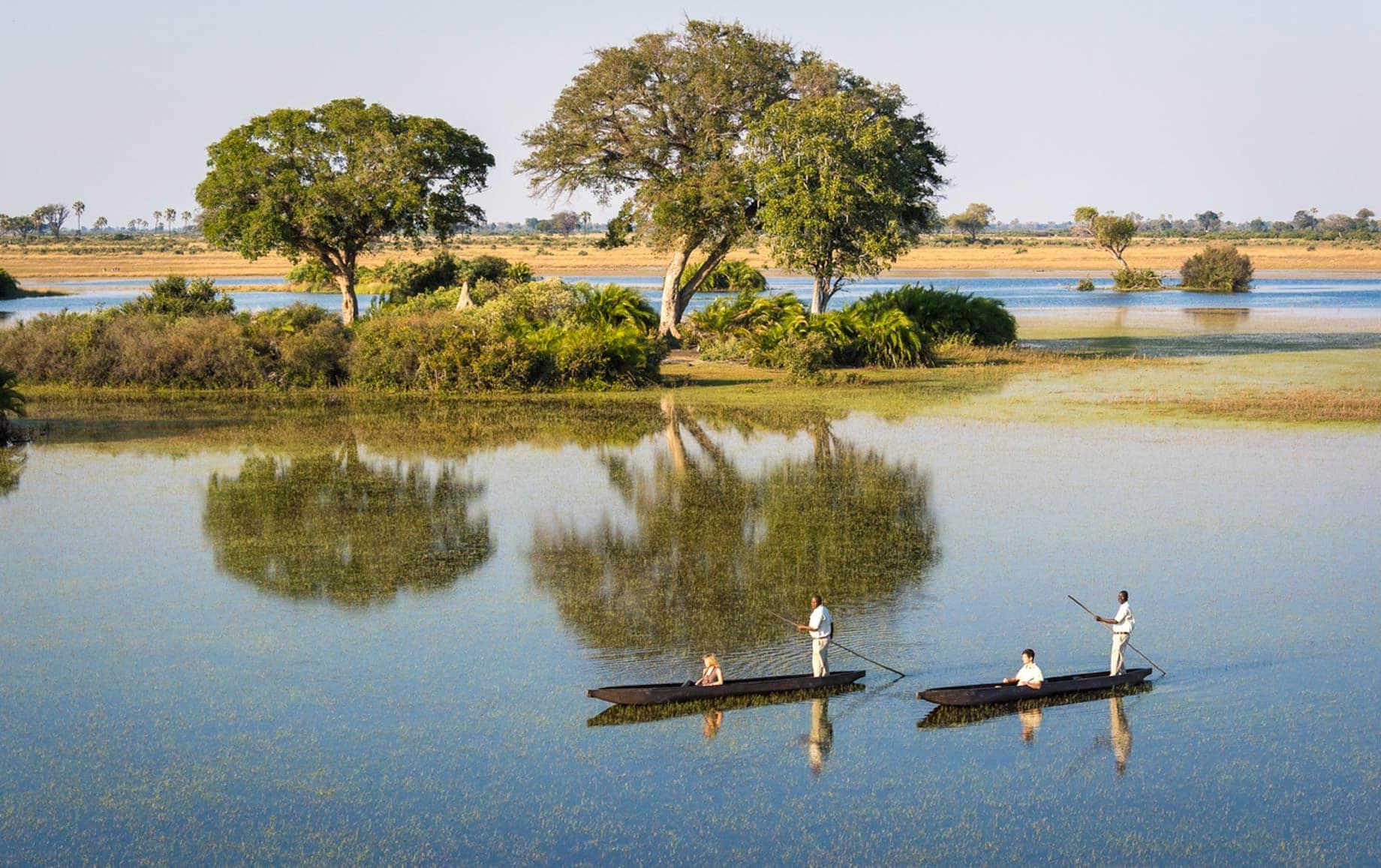 Mokoro boat experience