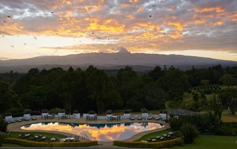 Beauty of Mount Kenya