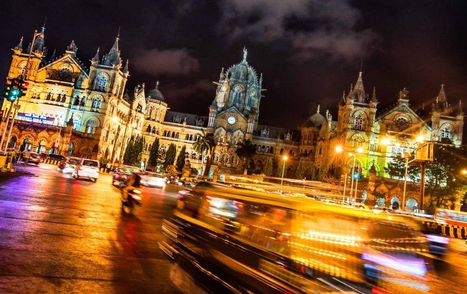 City Lights of Mumbai