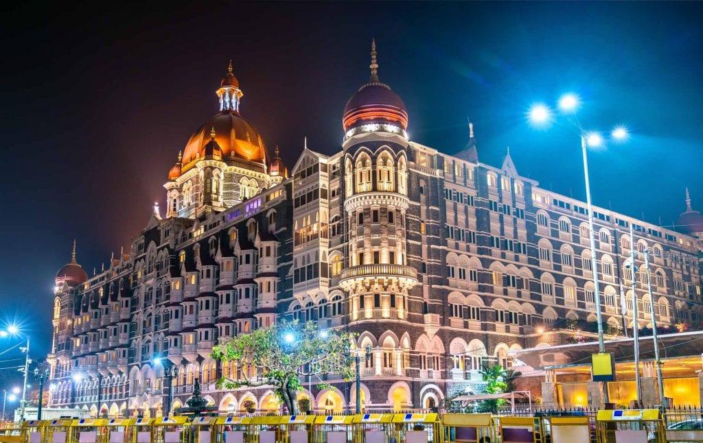 Night City Lights at Mumbai