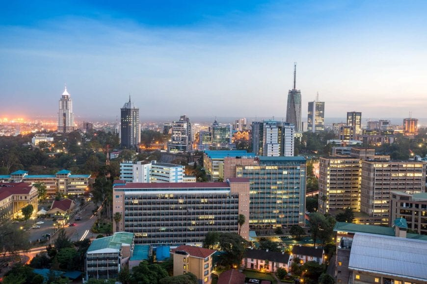 Beautiful Nairobi Skyline