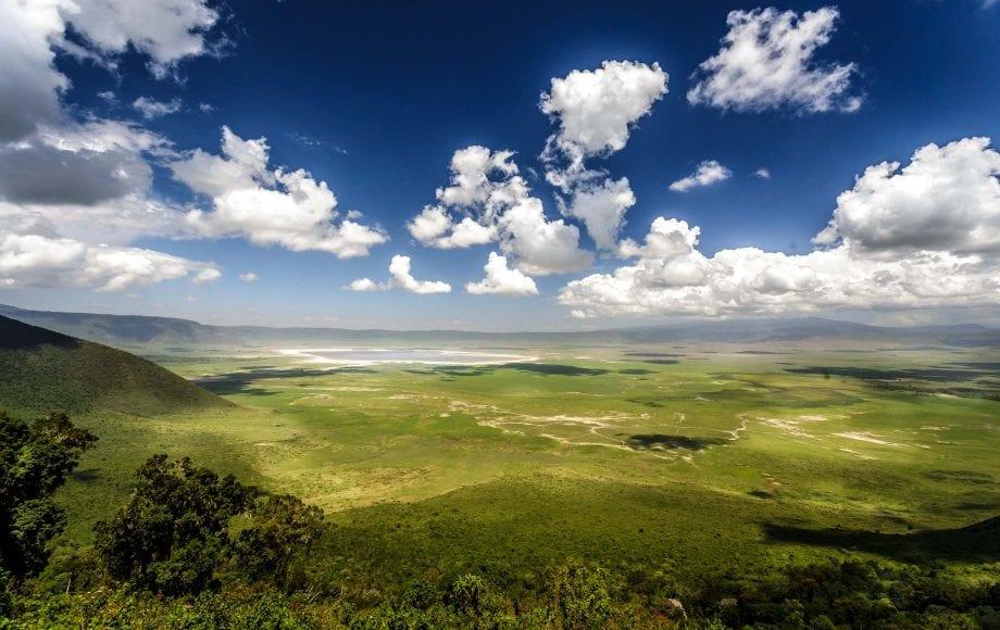 Beautiful view Ngorongoro Conservation Area