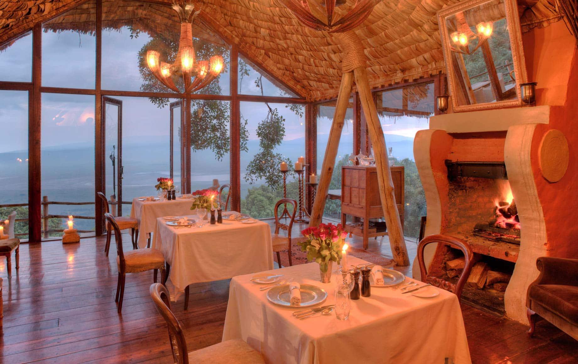 Ngorongoro Crater Lodge