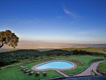 Ngorongoro Sopa Lodge pool