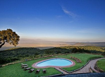 Ngorongoro Sopa Lodge pool