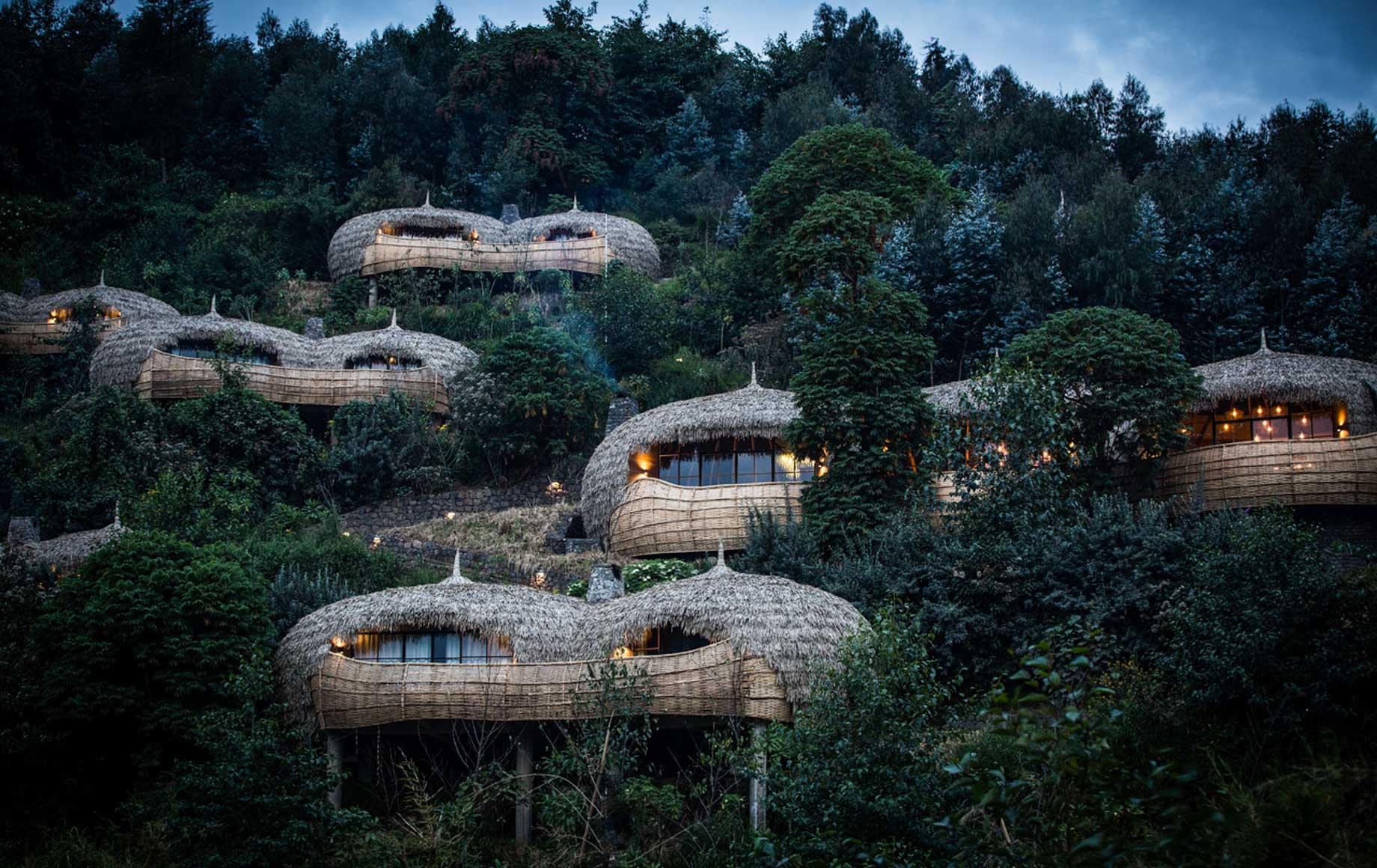 Hotels and lodges at Volcanoes National Park, Rwanda