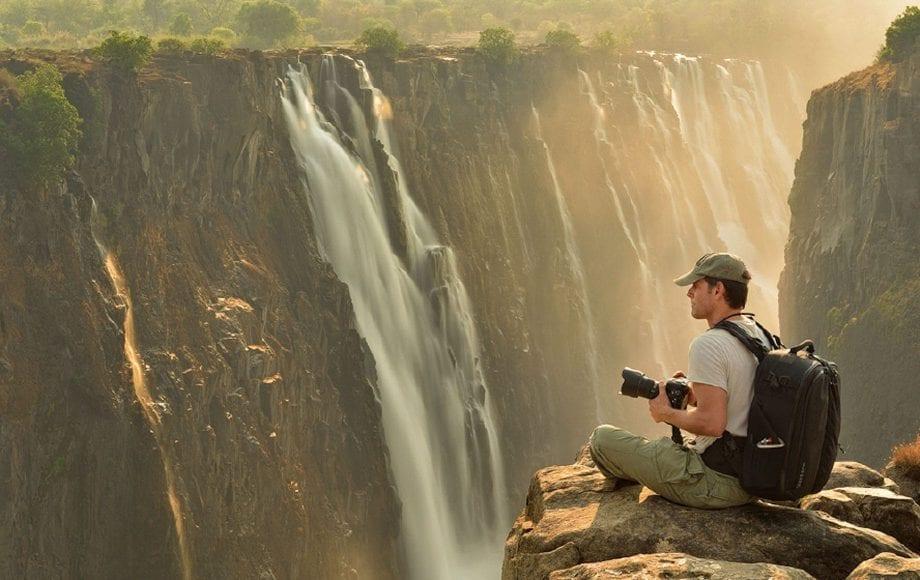 Photography at Victoria falls