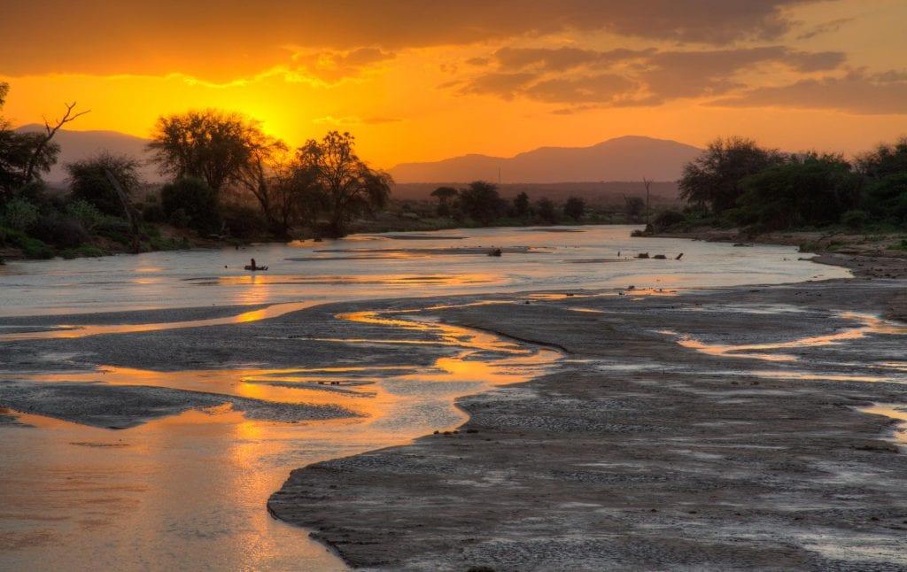 Scenery at Samburu National Reserve