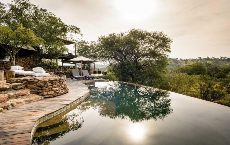 Serengeti national park hotel view