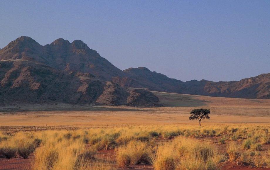Beautiful scenery of Sossusvlei Nambi Desert