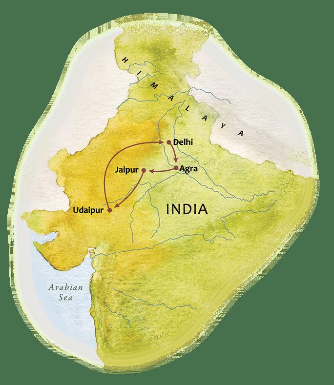 Splendours of Northern India