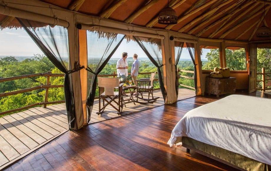 Honeymoon at Tarangire Hotel