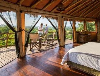 Tarangire Treetops Lodge couple