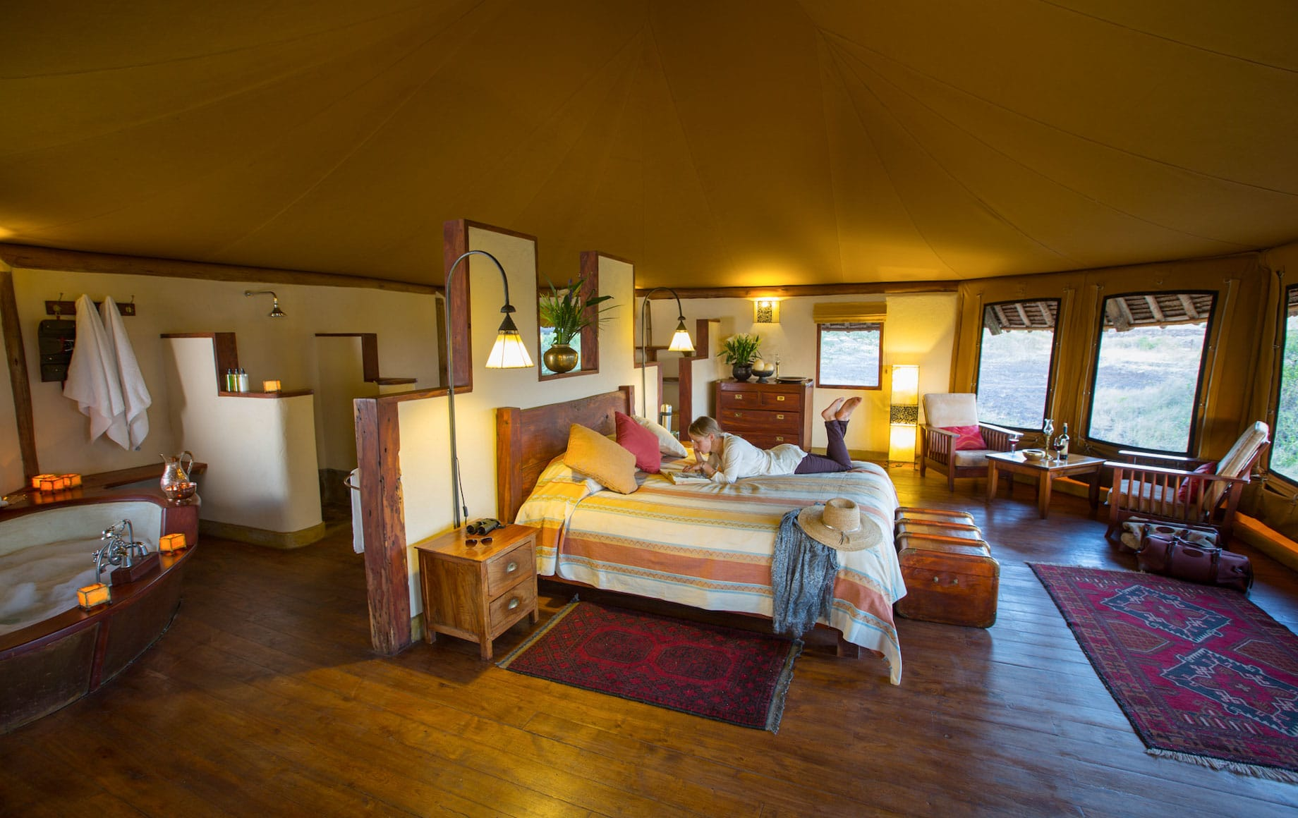 Tortilis Safari Camp, Amboseli, Kenya
