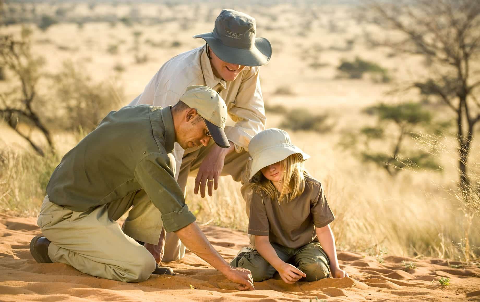 Tswalu Kalahari Reserve Family Time
