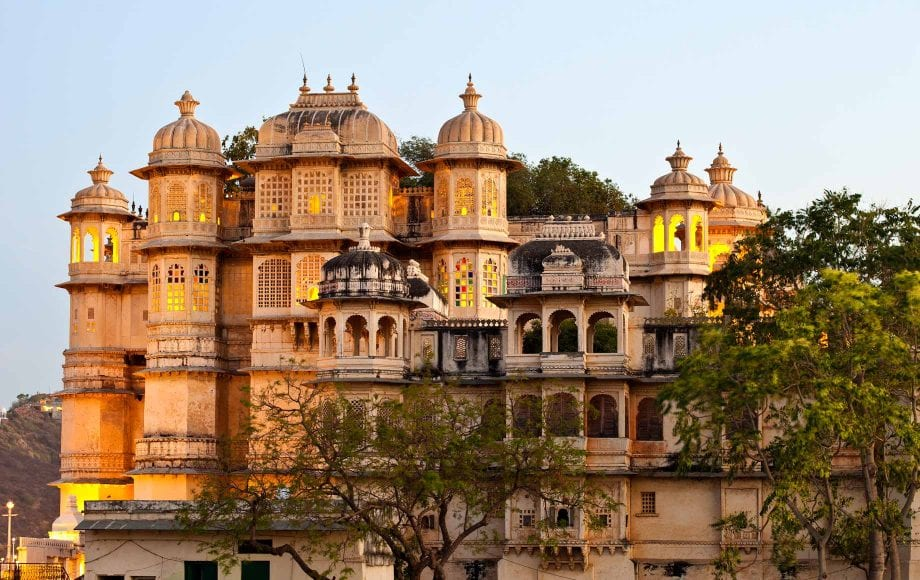 Udaipur Architecture and Nature