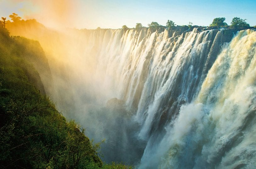 Victoria Falls – Largest waterfall in the world