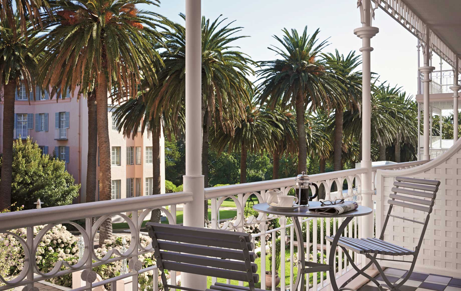 Coffee and Chill at Belmond Mount Nelson Hotel in Africa