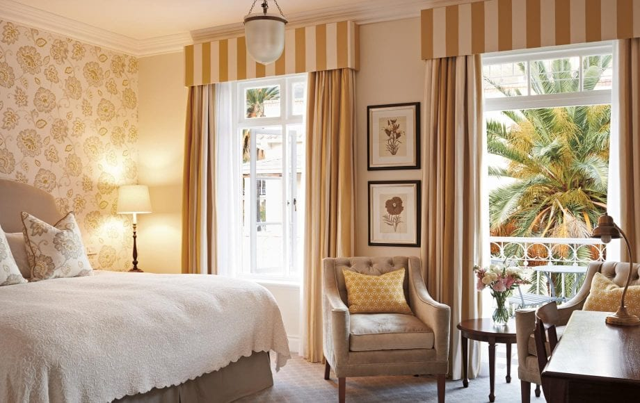 Luxury room at Belmond Mount Nelson Hotel in Africa