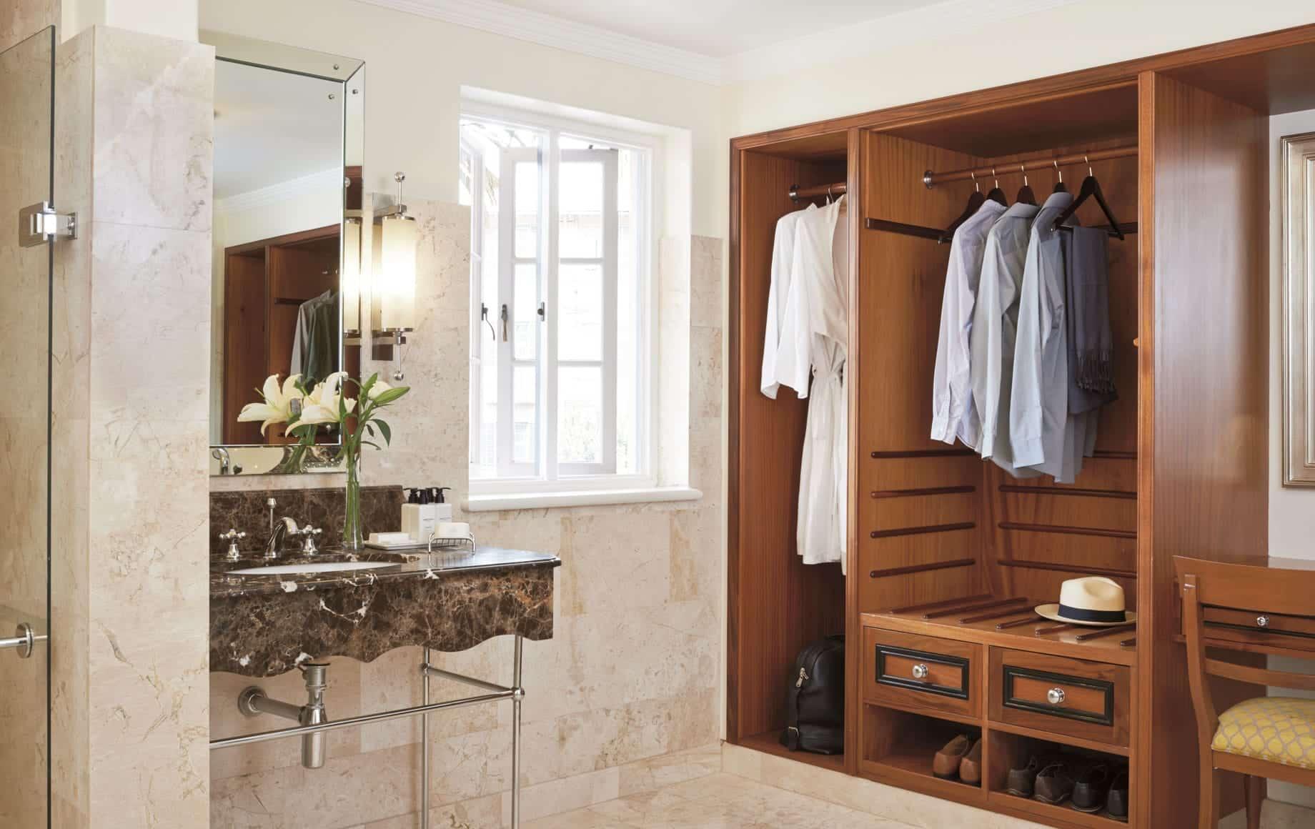 Luxury Bathroom of Belmond Mount Nelson Hotel in Africa